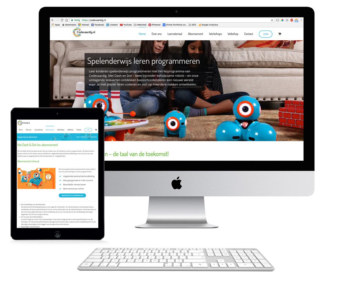 Codevaardig website en online marketing