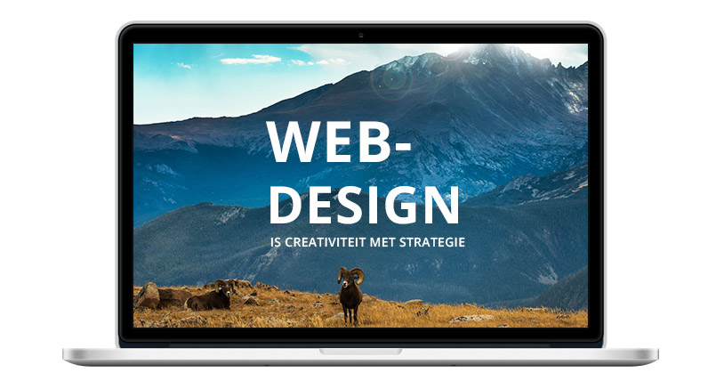 webdesign is creativiteit met strategie