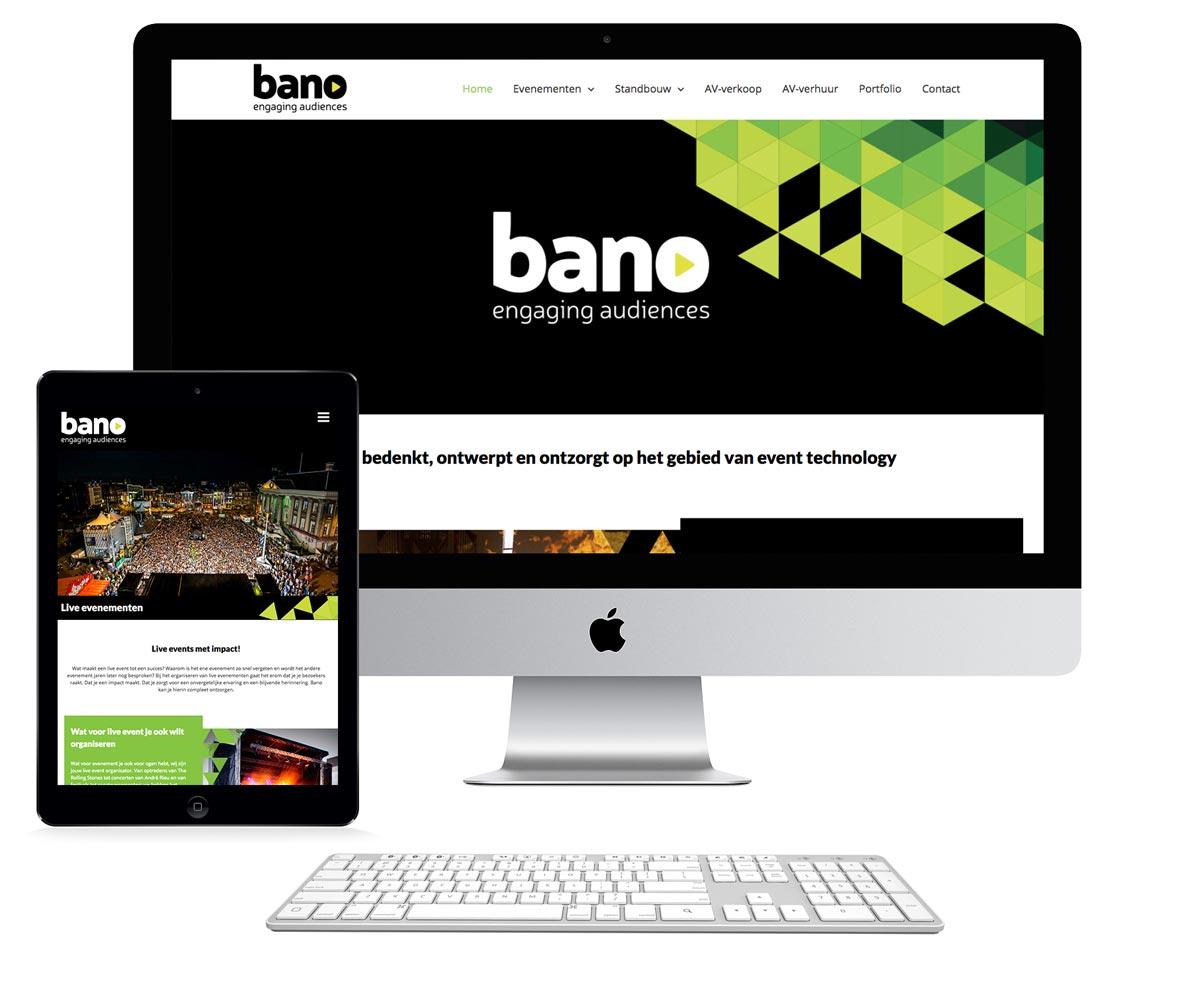 Nieuwe website Bano