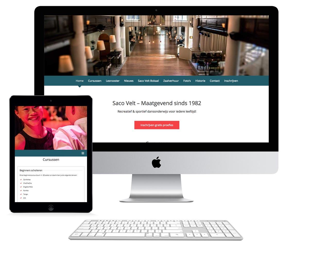 Webdesign Saco Velt