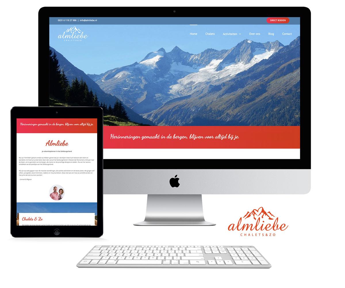 Almliebe huisstijl en website