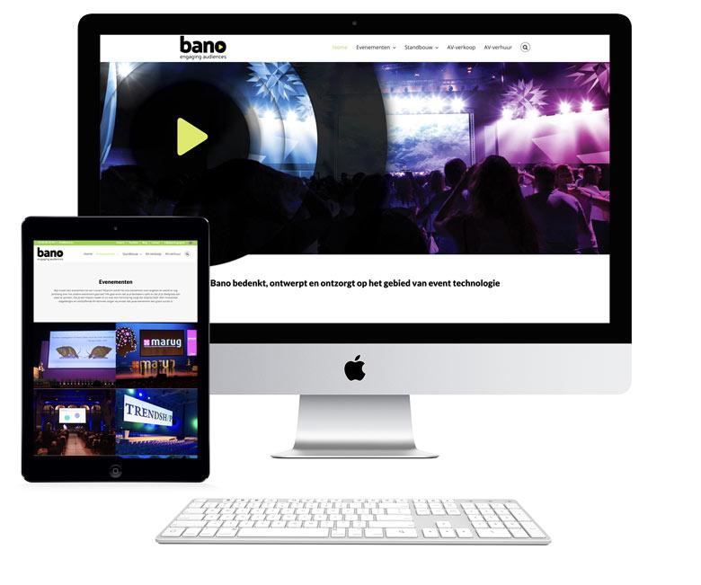 website bano op pc en tablet