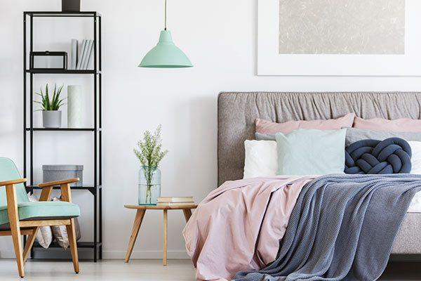 slaapkamer van matrasconcurrent