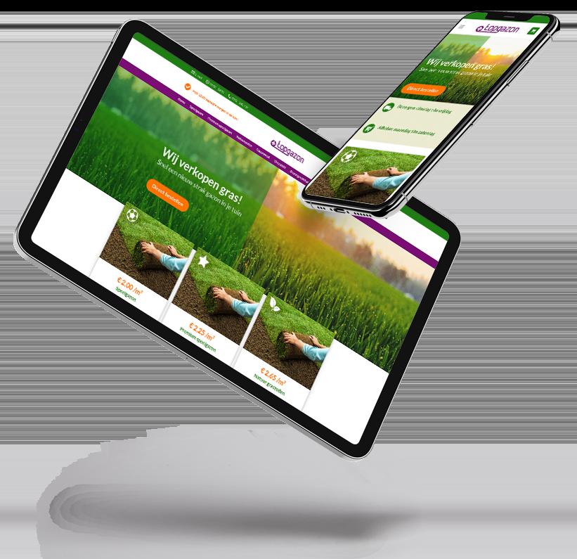 voorbeeld website topgazon