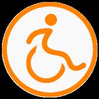 logo rolstoelauto's kikkert