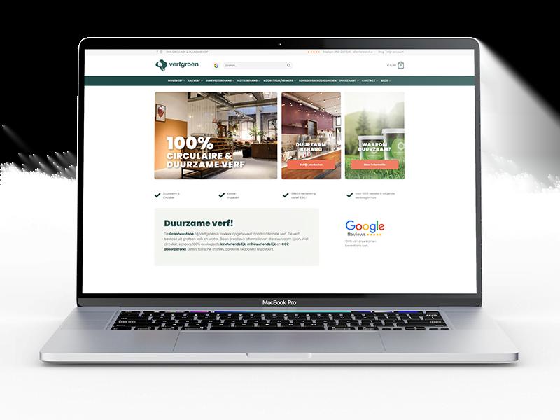 verfgroen webshop
